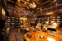 Homes with Libraries -- for billionaires | Alma Alexander