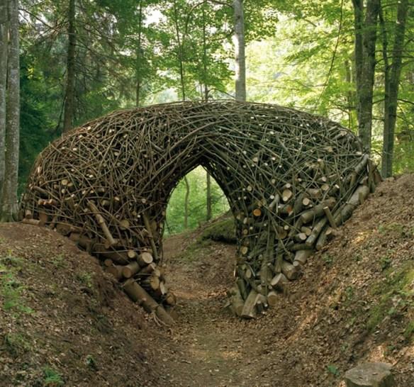 Environmental art archway