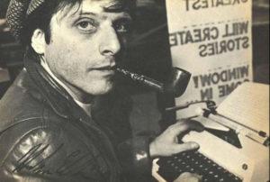 Writer in the window