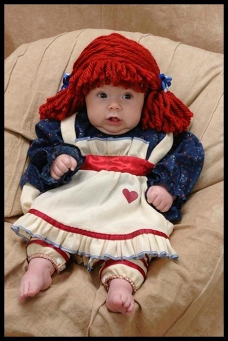 Raggedy Ann Baby.