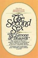 The Second Sex By Simone De Beauvoir