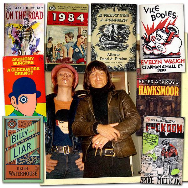 Bowie Books illustration