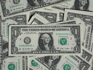 photo of dollar bills sleep
