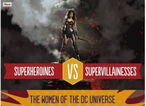 Superwomen illustration