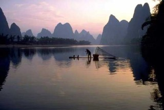 River in China photo