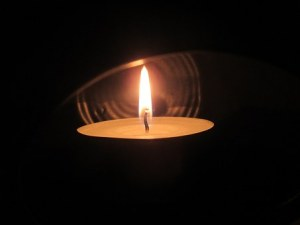 Candle in the dark image
