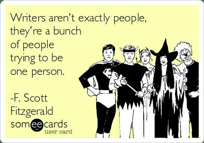 Writers are People illustration