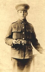 Thomas Bennett in uniform