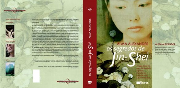 The Secrets of Jin-shei cover frony and back