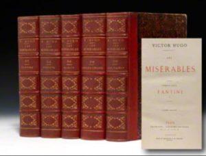 les Miserables set of books