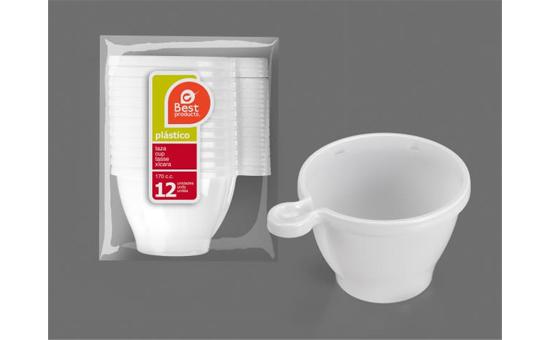 Taza de té plastico
