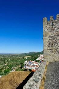 Vista do castelo medieval