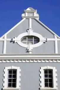 Pormenor de uma fachada na Victoria & Alfred Waterfront