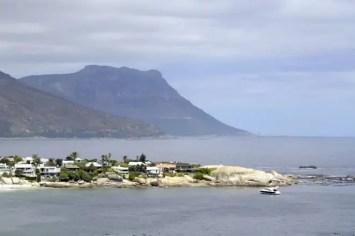 Pormenor de Clifton, a zona mais rica da Cidade do Cabo, África do Sul