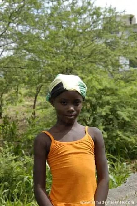 Criança caboverdiana
