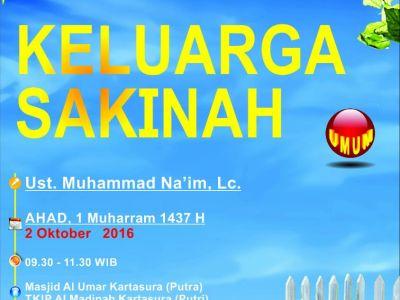 Kajian Ilmiah Masjid Al Umar Kartasura 2 Oktober 2016