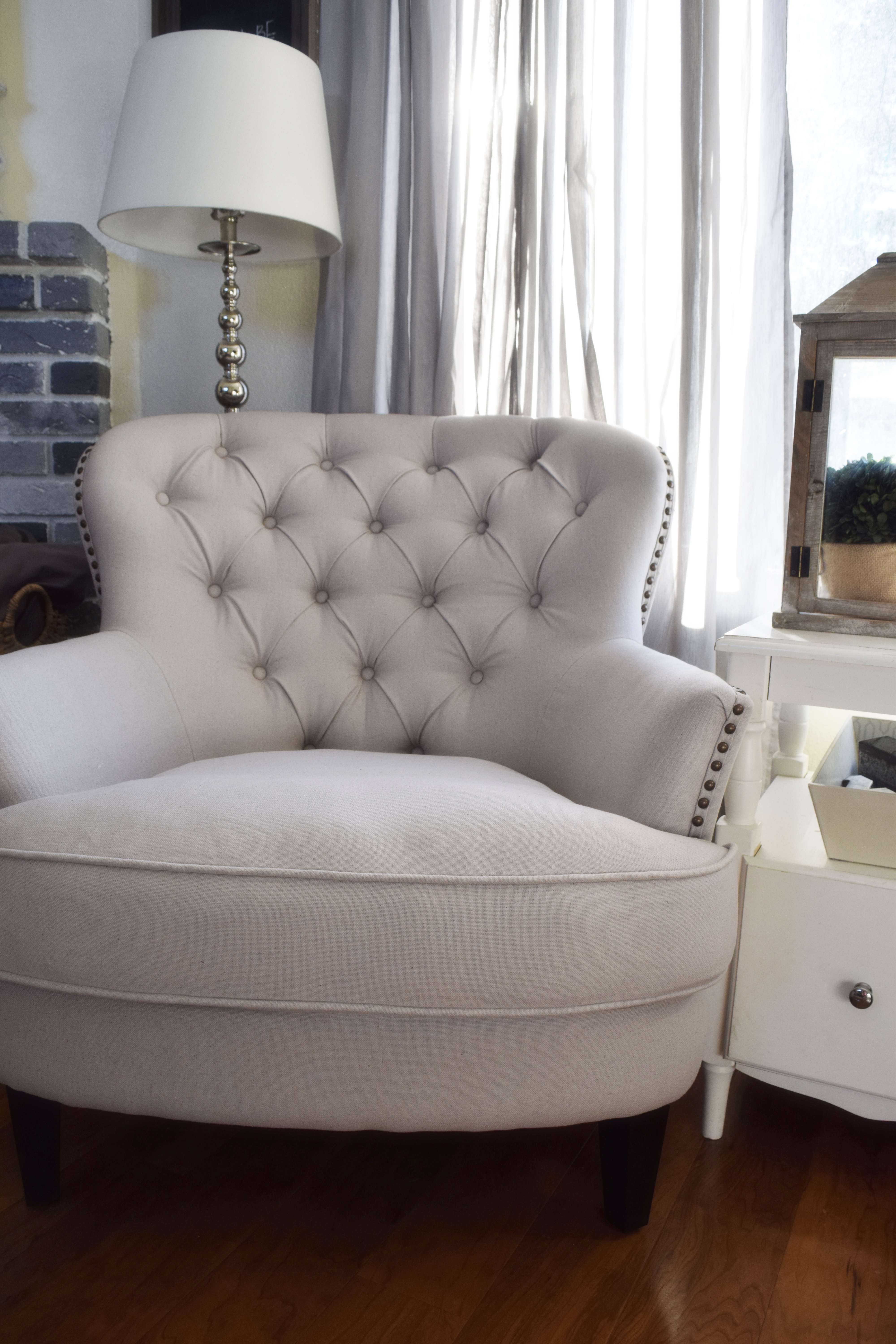 I Should Add, In Case You Were Interested In Purchasing This Tufted Chair,  Itu0027s Called The Christopher Knight Home Tafton Tufted Fabric Club Chair And  You ...