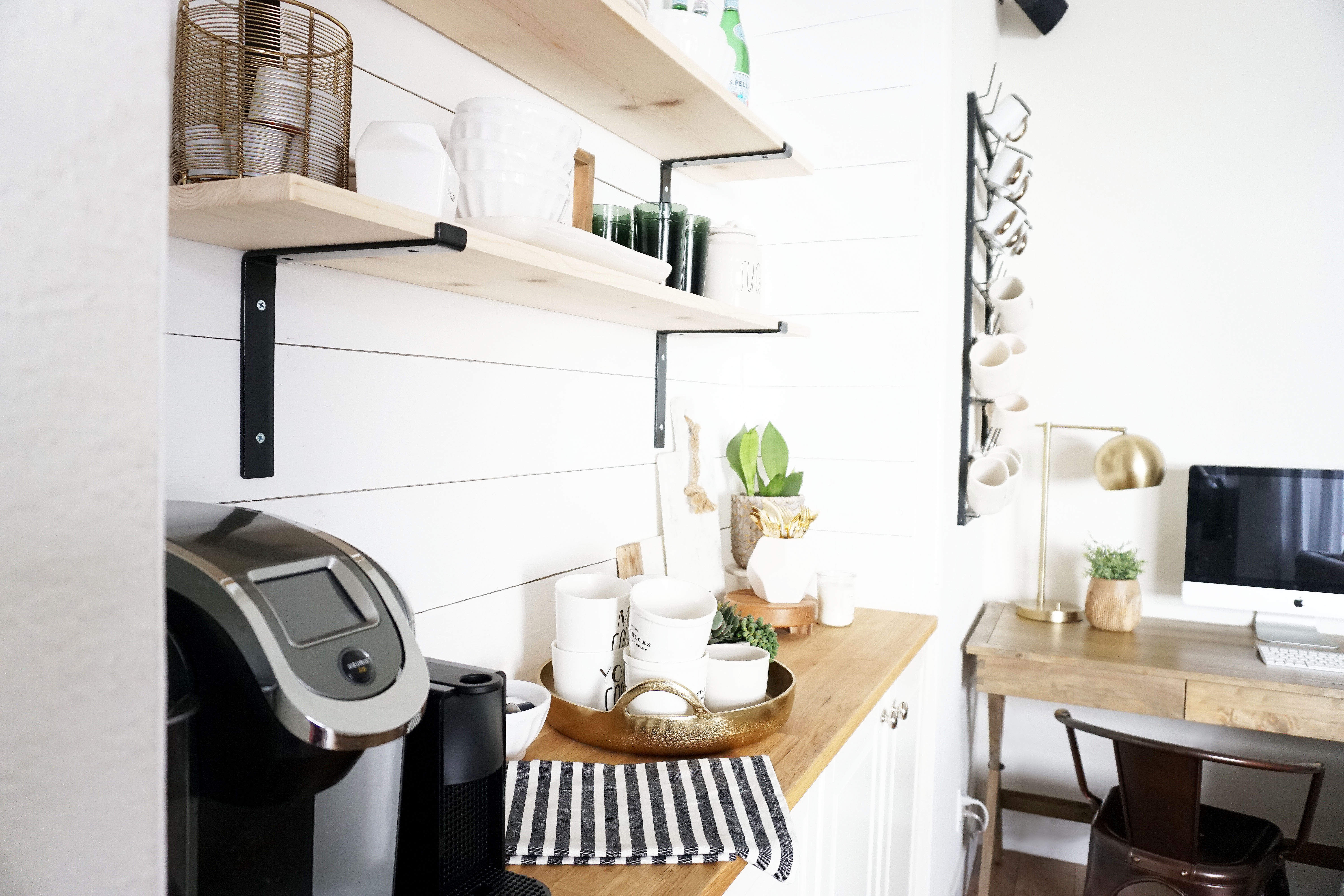 Family room update: the coffee bar – almafied.com