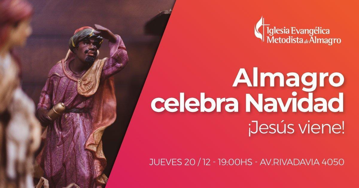 Almagro celebra Navidad: ¡Jesús viene!