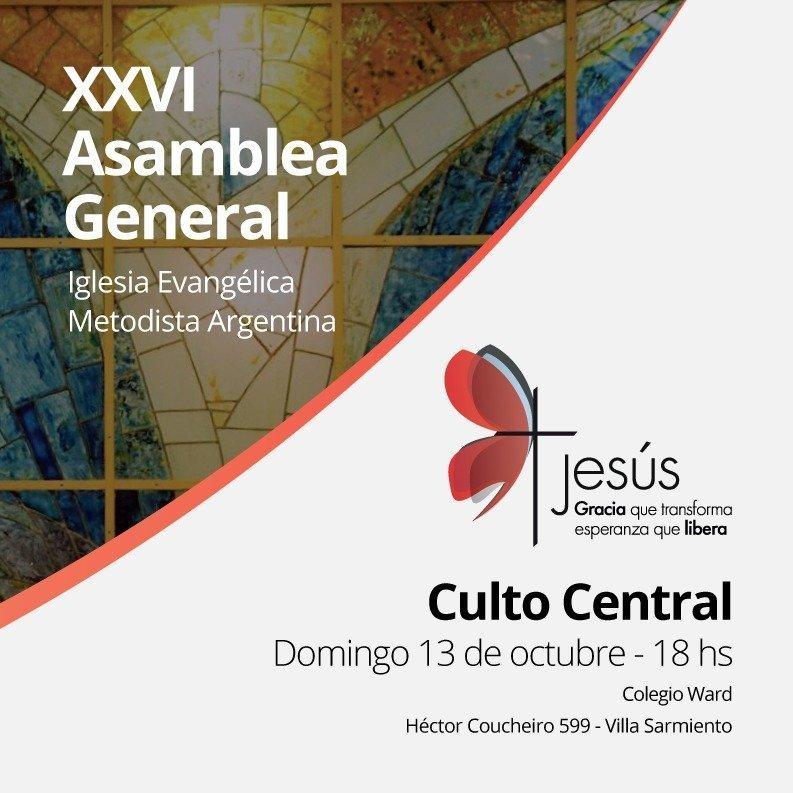 Culto Central de la XXVI Asamblea General de la IEMA