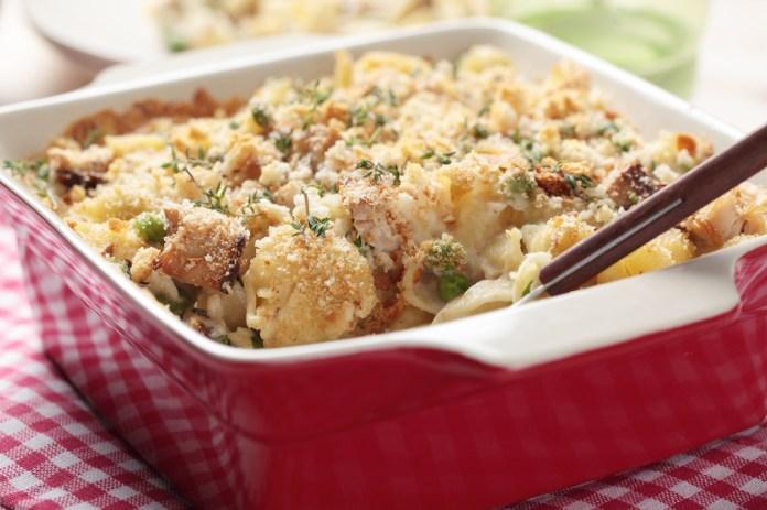 Easy Tuna Casserole With Noodles Recipe Old Farmer S Almanac