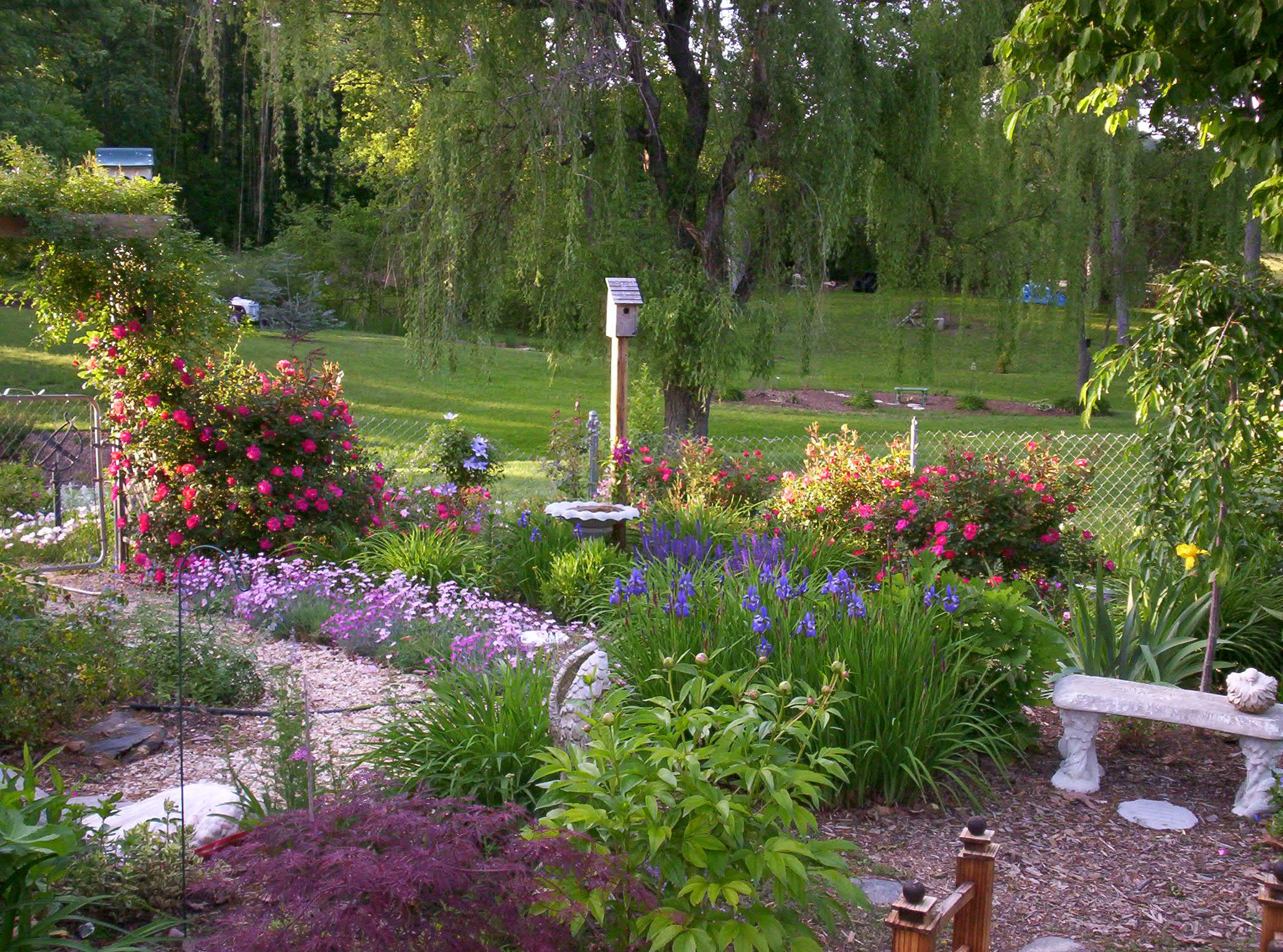 garden plans perennials flowers list free plot plan  The Old Farmers Almanac