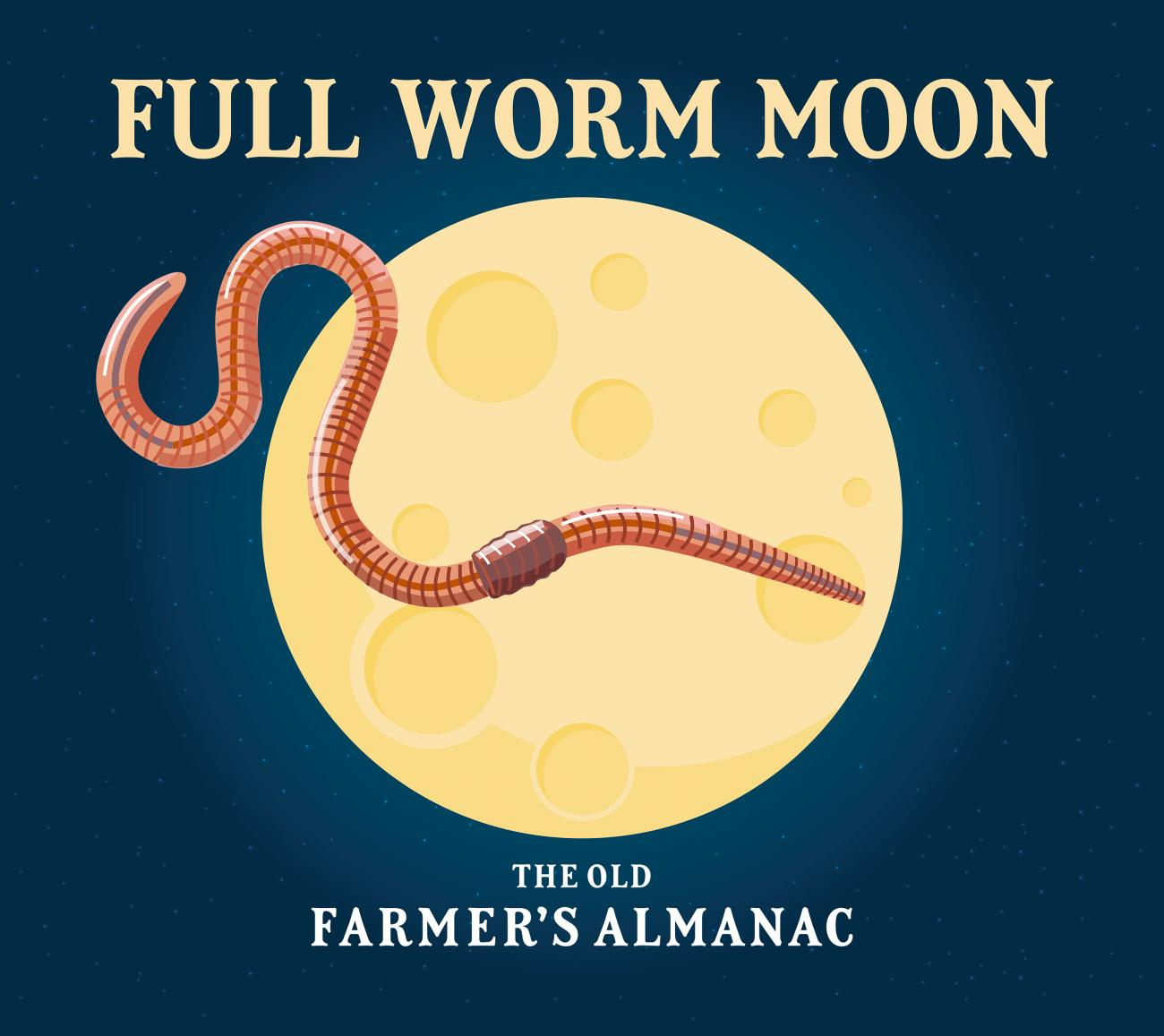 Full Moons for March 2018 The Full Worm Moon and Blue Moon The Old Farmers Almanac