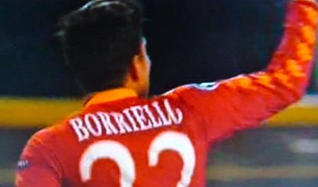 Borriello realizza l' 1-2