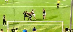 Il Goal di Burdisso a Salonicco