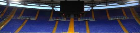 Stadio semivuoto o pieno di lazial-juventini?