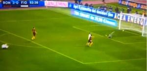 Roma-Fiorentina 4-0 Dzeko