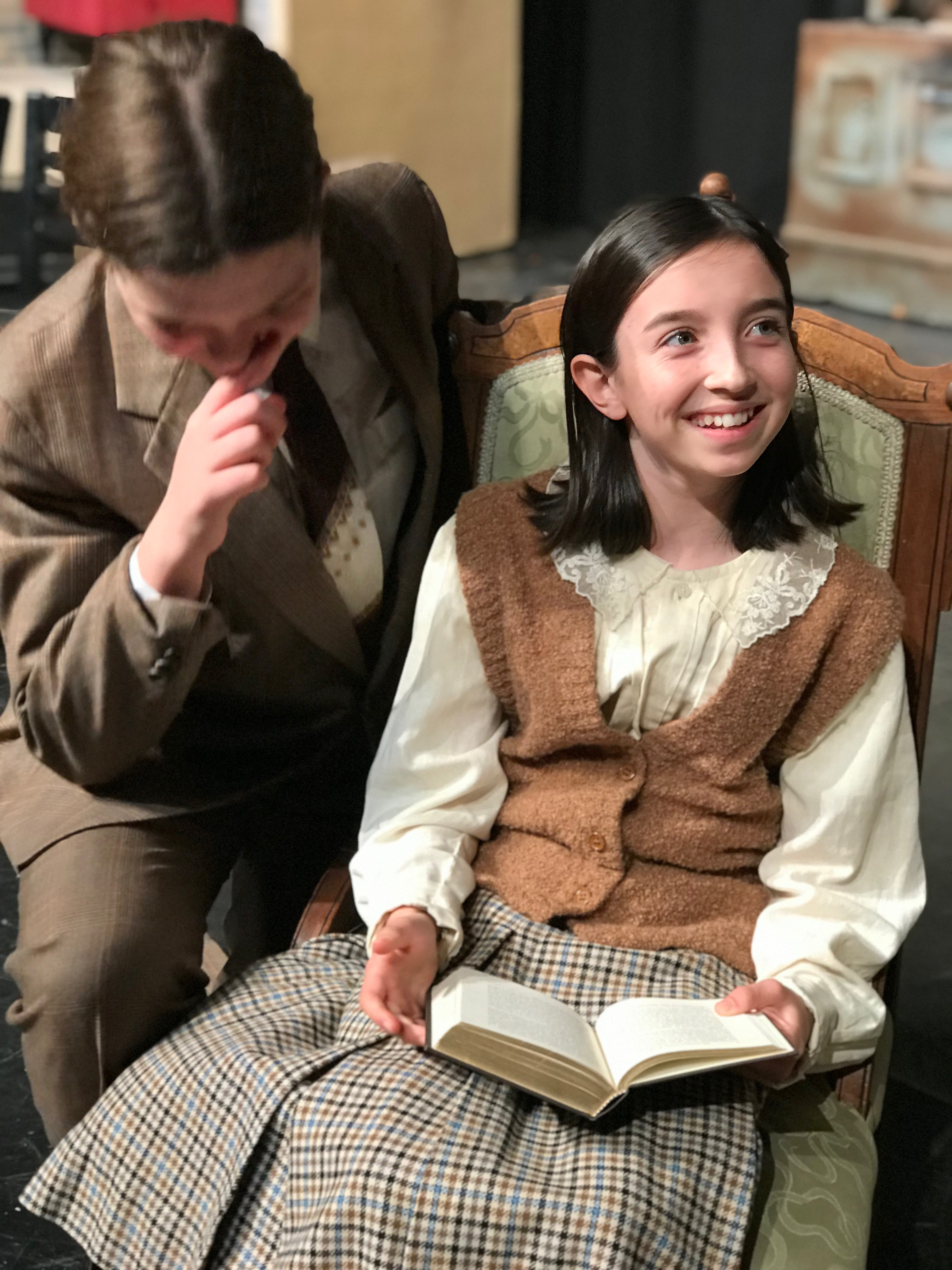 Anne Frank Helen Keller Come Back To Life On Hillview