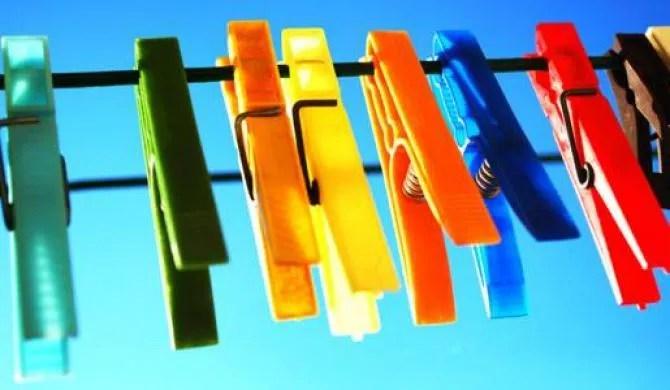 Cuidados ao pendurar as roupas no varal