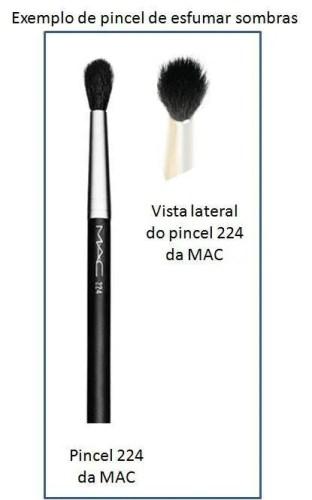 Pincel 224 da MAC