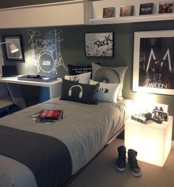 Decoração de quarto de adolescente