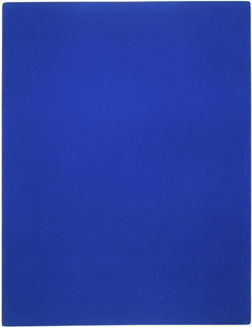 la couleur bleue  Almanart