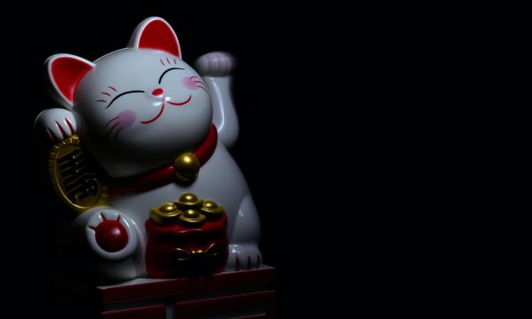 Maneki Neko o gato de la suerte japonés