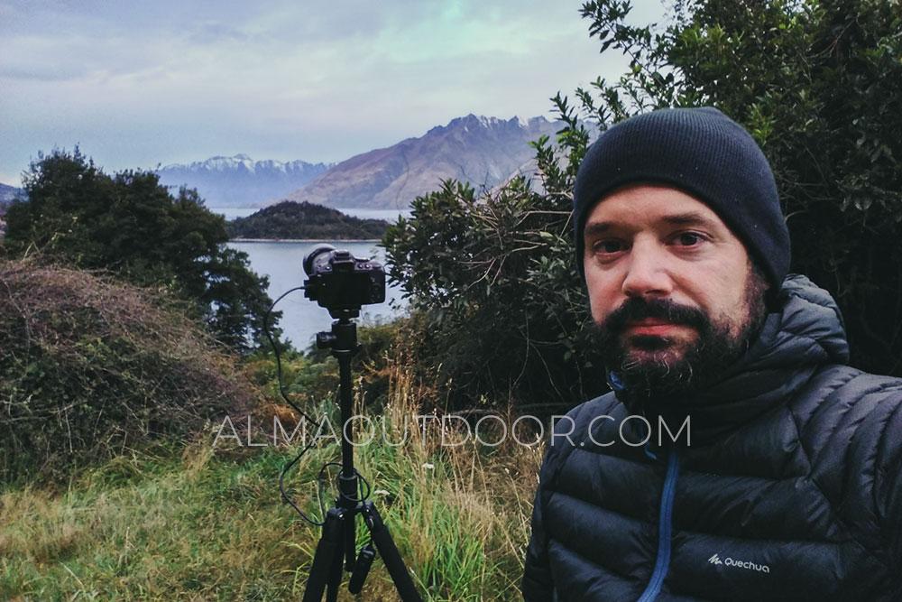Cámara de fotos viajar Nueva Zelanda