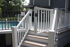 deck contractor new Composite Decking Hanover near 02339 Licensed deck builder Vinyl deck