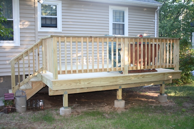 deck contractor new Composite Decking Hanover near