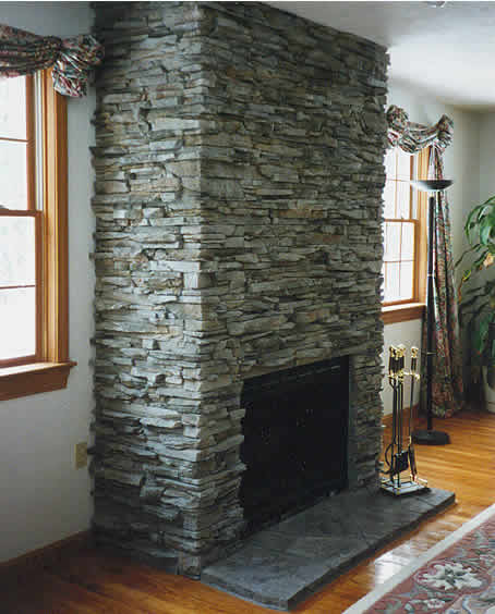 Cultured stone stone veneer decorative stone for fireplaces