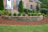 Landscaping Ideas With Stone Wall PDF