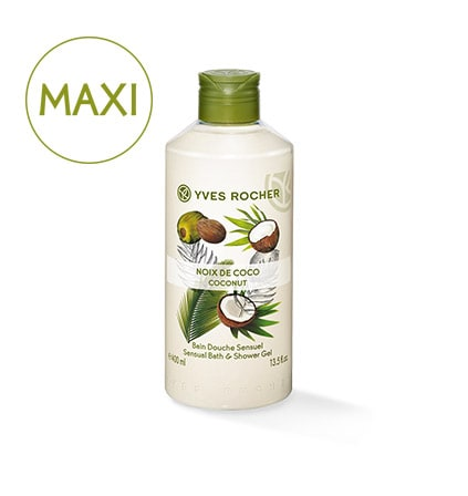 YR_Maxi Bain Douche Noix de Coco 400 ml