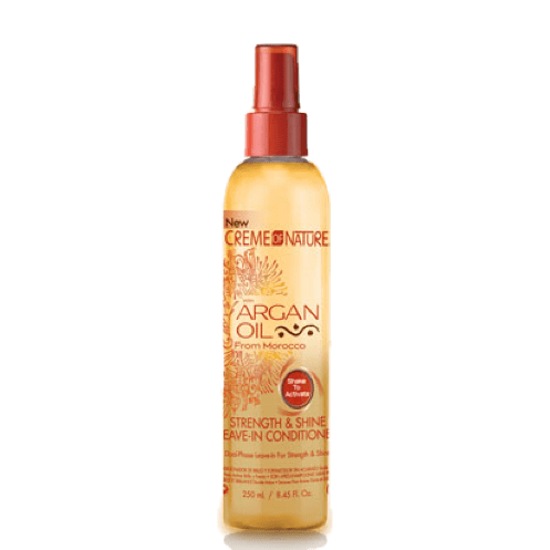 Soin sans Rinçage Force et Brillance 250 ml, CREME OF NATURE Argan Oil