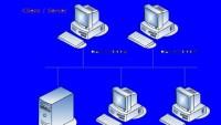 استخدام عدد من أجهزة الحاسب لطابعة واحدة من أمثلة