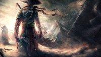اسم يطلق على المحاربين القدماء في اليابان من سبع حروف