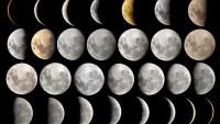 السنة القمرية هي المدة التي يأخذها القمر في الدوران حول الشمس