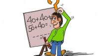 احضر المعلم إلى الصف عبوتين في كل منهما 24 قلما، وثلاث عبوات في كل منهما 15 قلما. أي مما يأتي لا يمثل مجموع عدد الأقلام في العبوات جميعها