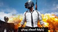 زخرفة اسماء ببجي ايفون عربي