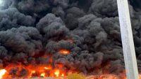 سبب حريق سوق عجمان الشعبي اليوم